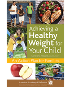 Healthy Weight for Your Child Book Cover